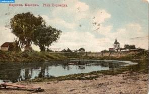 Река Воронеж в окрестностях Козлова