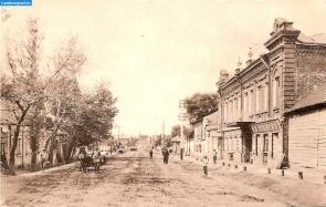 Улица Лебедянская в Козлове